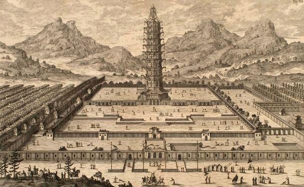 Antigua ciudad china