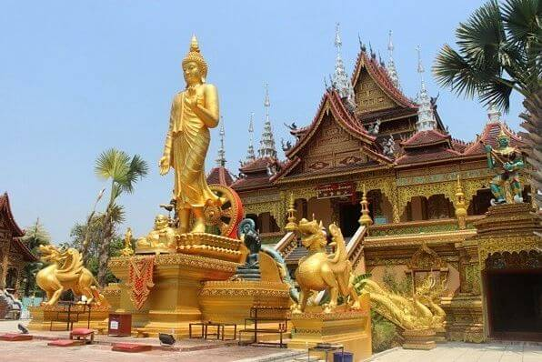 Arquitectura templo budista chino