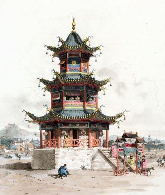 Cultura china resumen pagoda