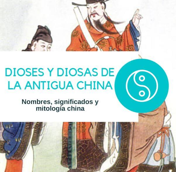Dioses y diosas de la antigua China