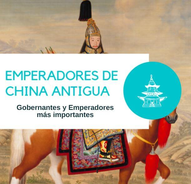 Emperadores china antigua