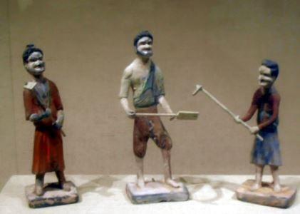 Herramientas cultivo antigua china
