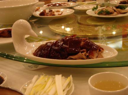 Pato pekines gastronomia china