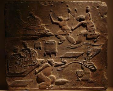Danza en la antigua China