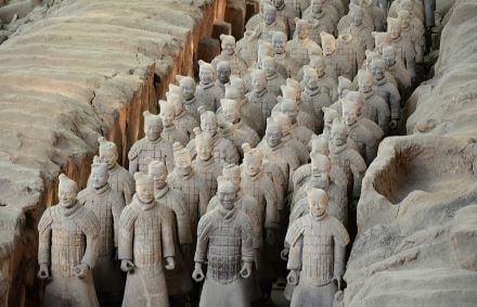 Ejercito de Terracota china