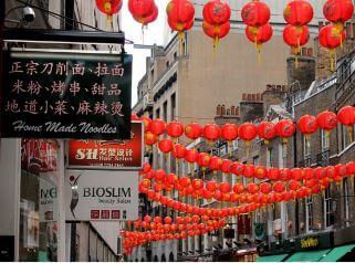 Festival linternas China