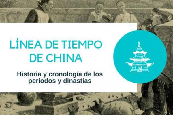 Linea de tiempo cultura china