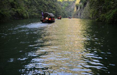 Transporte rios de china