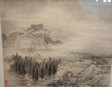Pintura china Dinastia Qing
