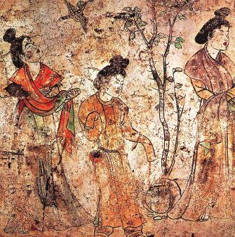 Pintura china en la dinastia Tang