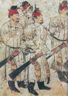 Pintura de la Dinastia Tang